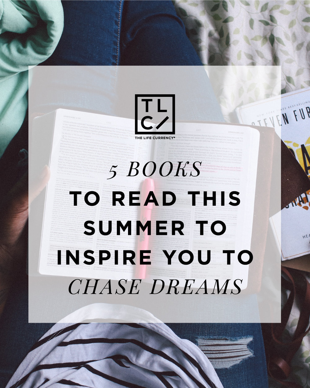 5 Books to Read This Summer To Inspire You To Chase Dreams
