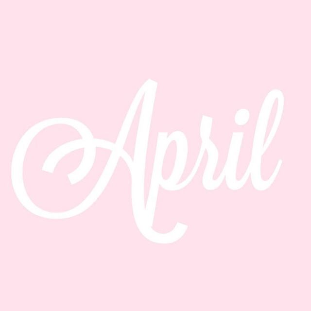 Ok...how is it already #April?!! Who else thinks this year is flying by?! 💕🐰🙏🏽 #LifeCurrency #NewMonth #April