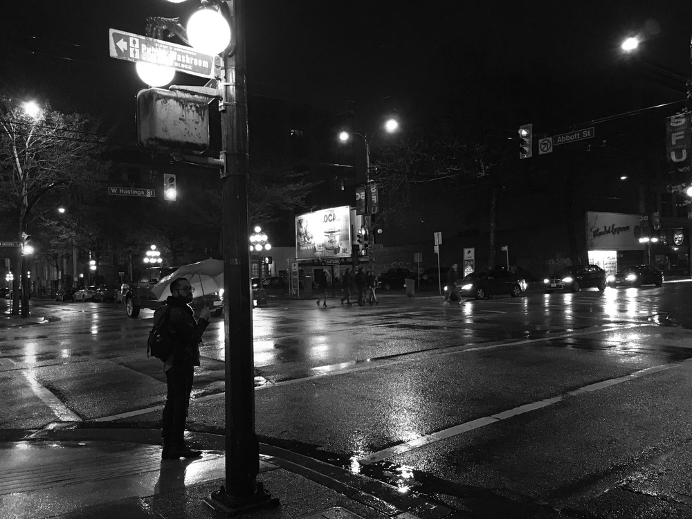 Hastings and Abbott. Vancouver, BC.