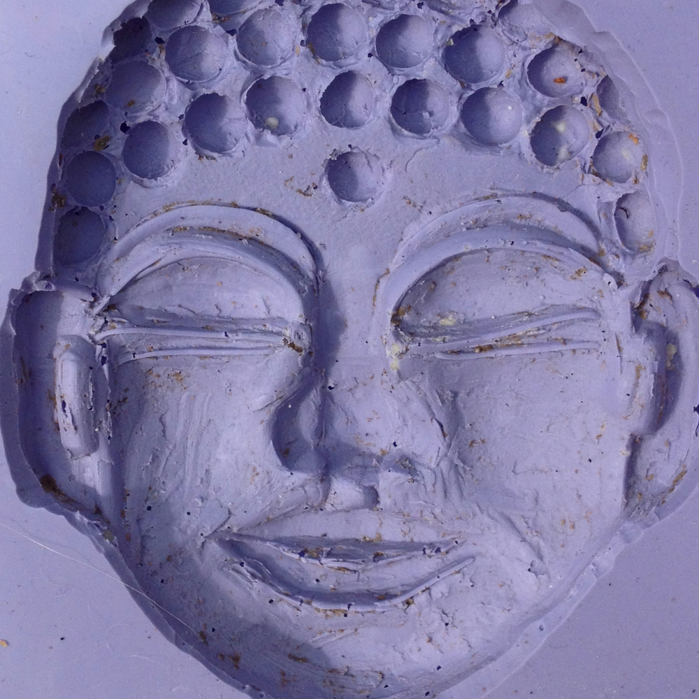 Silicon Buddha Head Mold