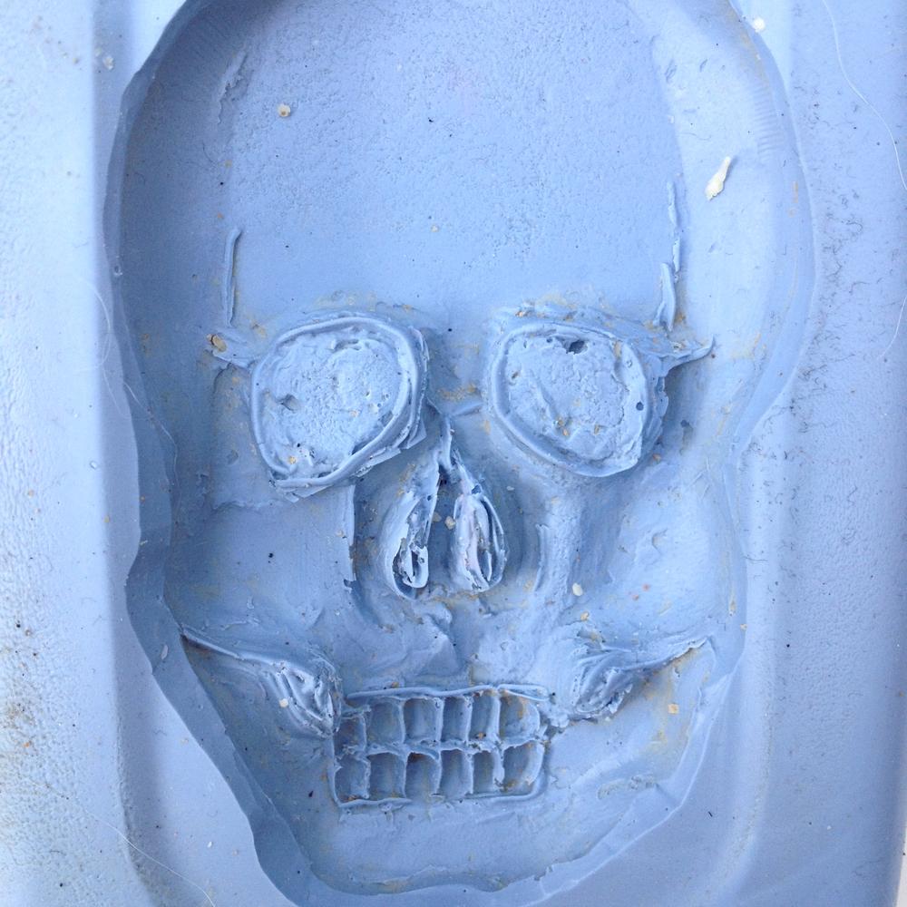 Silicon Skull Mold