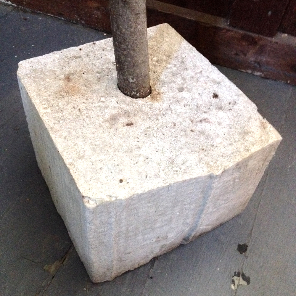 Concrete Tree Base Casting