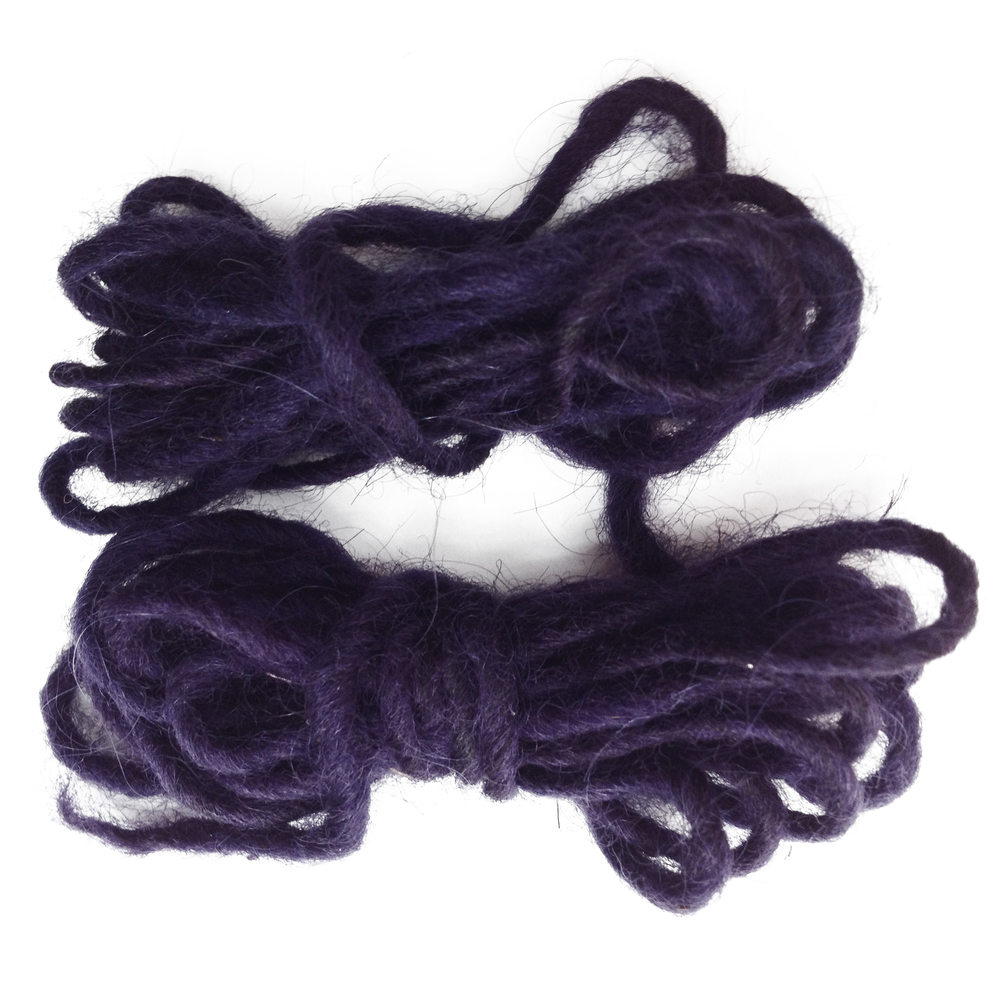 Spun Alpaca and Logwood