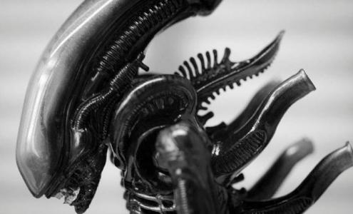 H.R. Giger alien