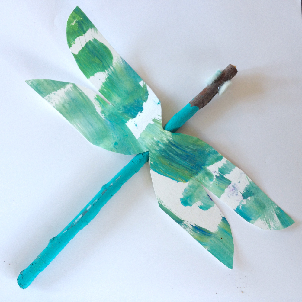 Dragonfly, Mixed media