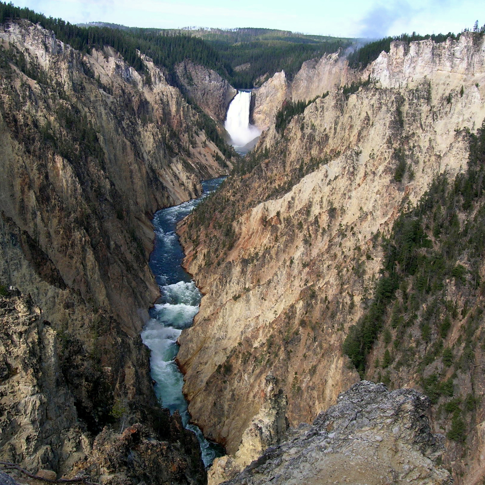 Upper Falls, Yellowstone, Wyoming
