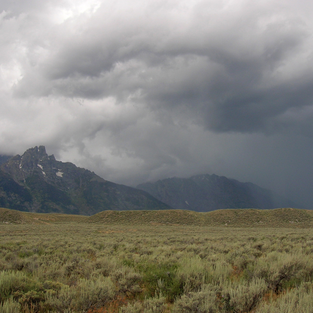 Storm Coming, Grand Tetons, Jackson Hole, WY