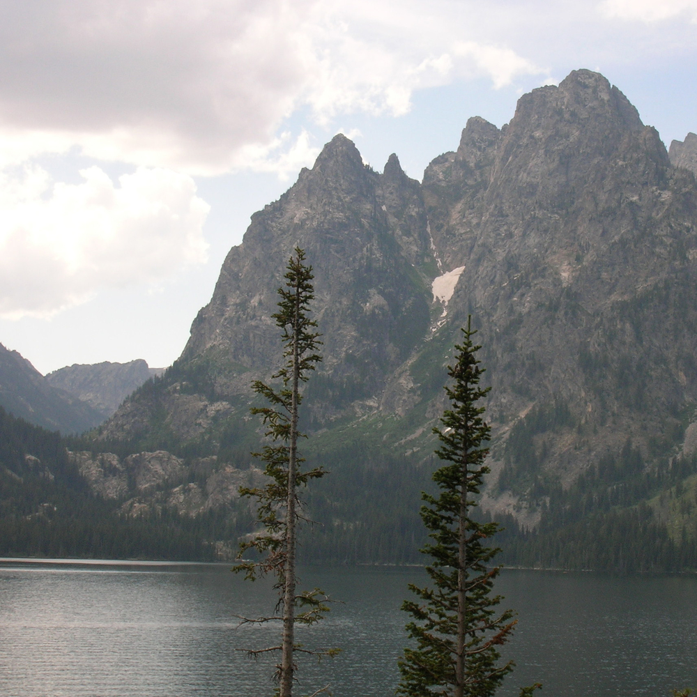 Lake and Tetons, Grand Tetons National Park, WY
