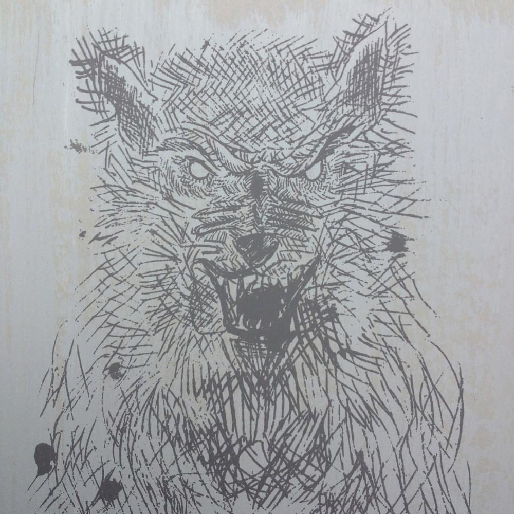 Wolf, Silkscreen