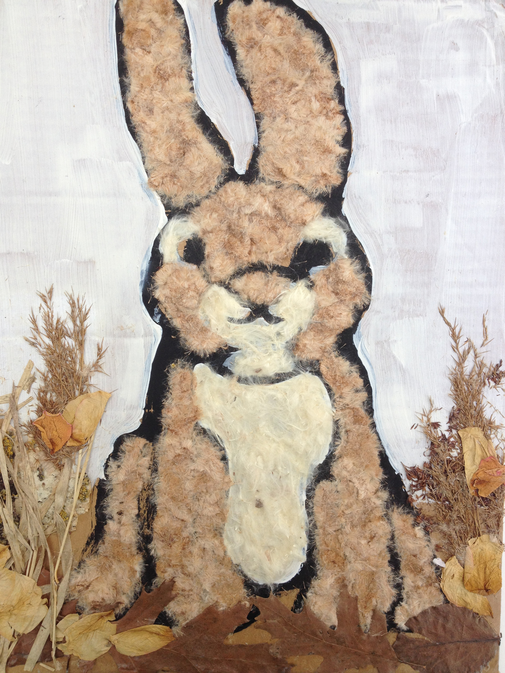 Rabbit, Mixed media