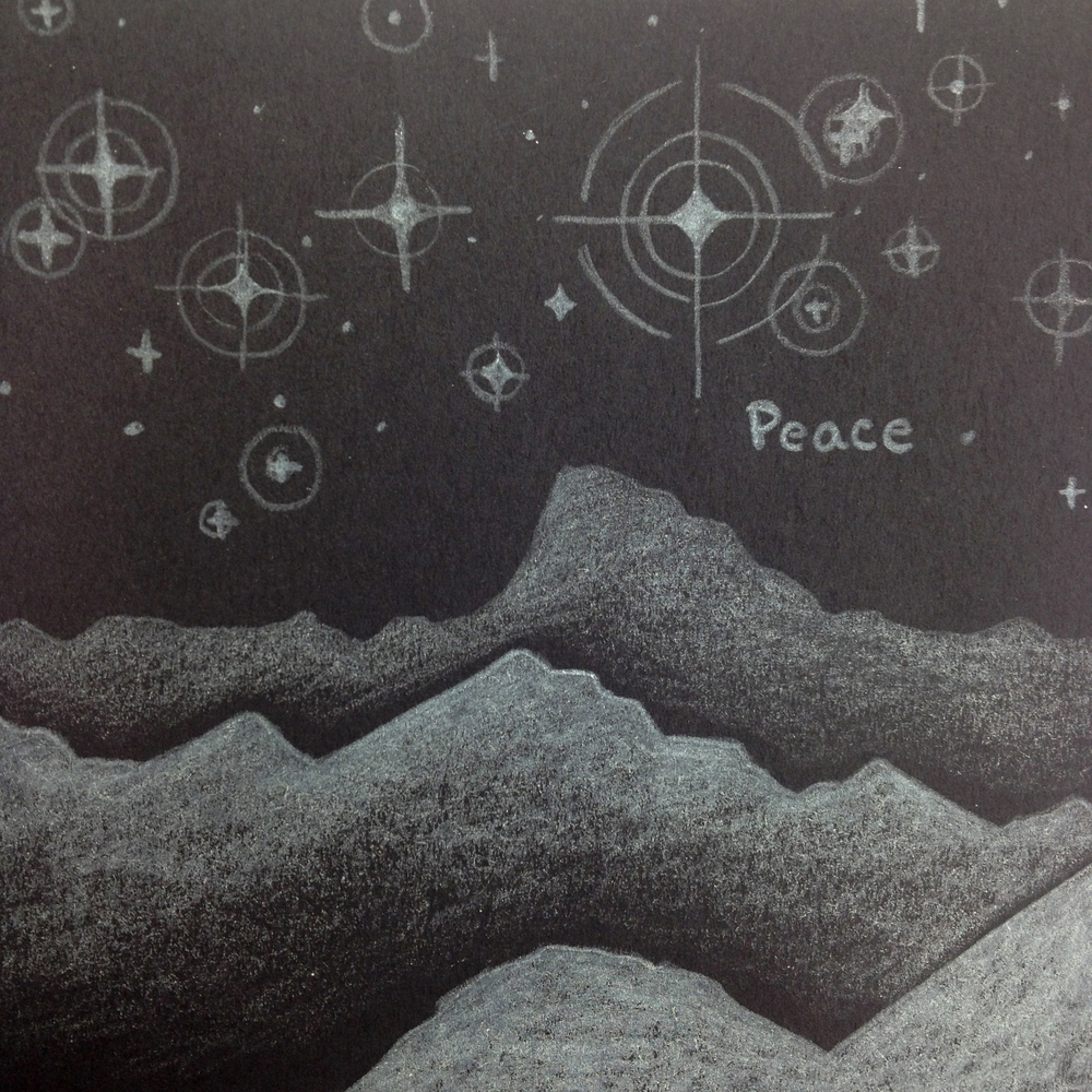 Peace, Charcoal