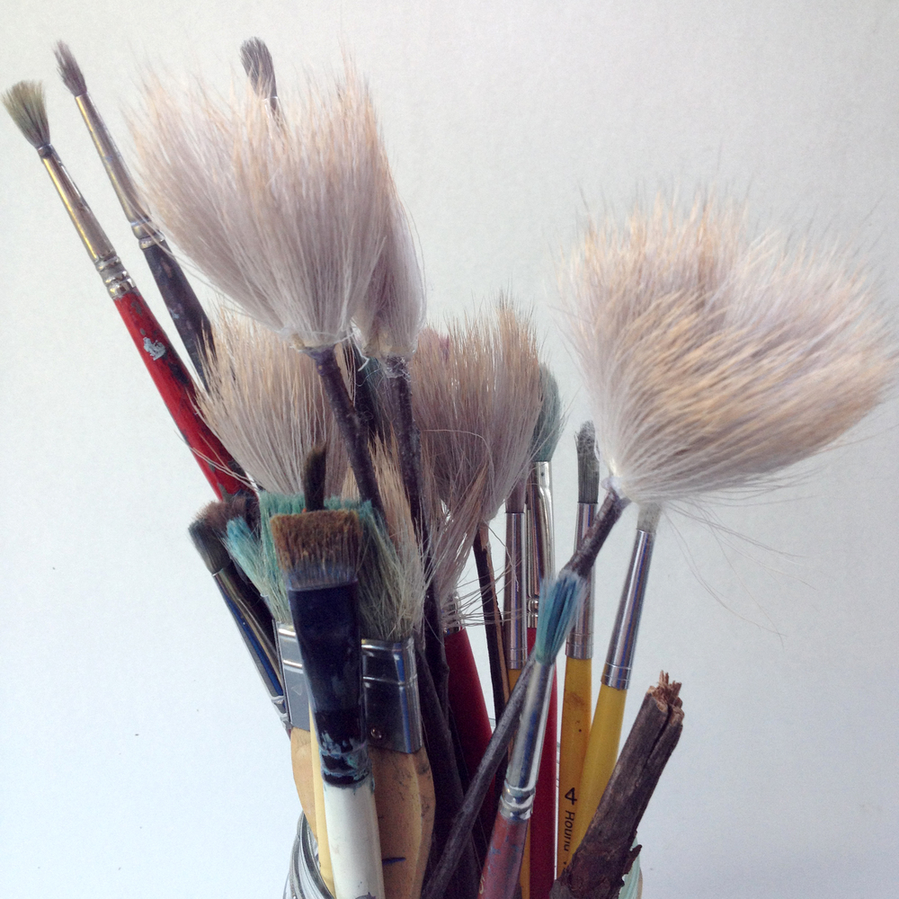 Any brush will do if you can´t manage making your own. It´s going to cost you though.