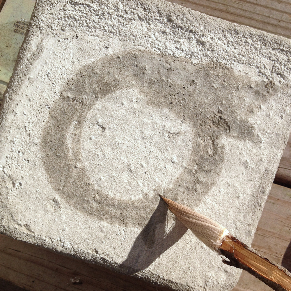 You can pour your own concrete slabs. Don´t get complicated; a cardboard box and cooking oil do just fine.