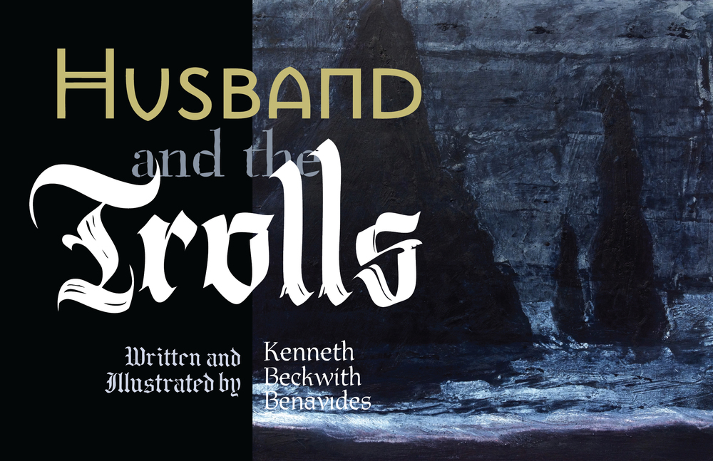 Husband and the Trolls , Book cover