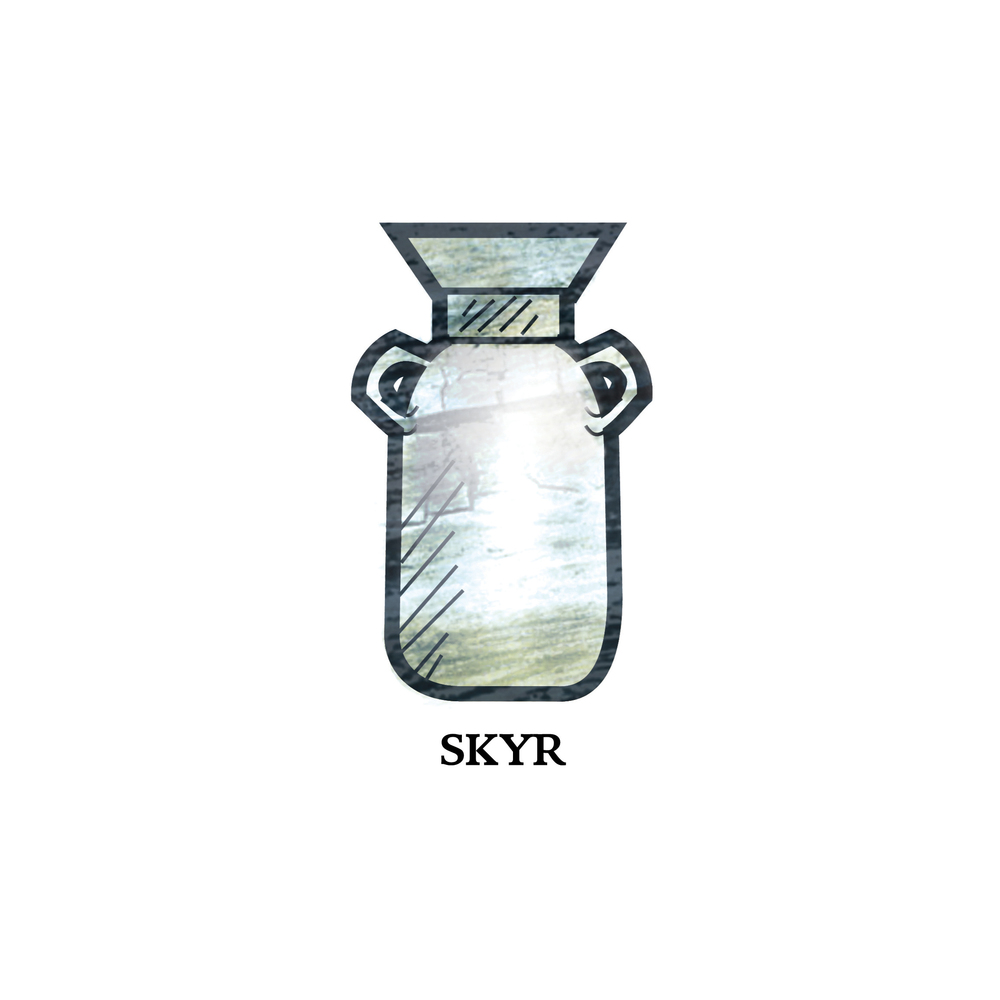 Skyr, Illustration