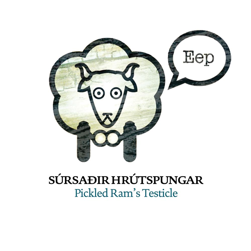 Súrsaðir Hrútspungar, Illustration