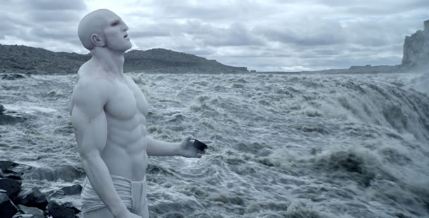 Prometheus , part of the  Alien  series filmed northeast right at Dettifoss; the most powerful waterfall on the European plate.