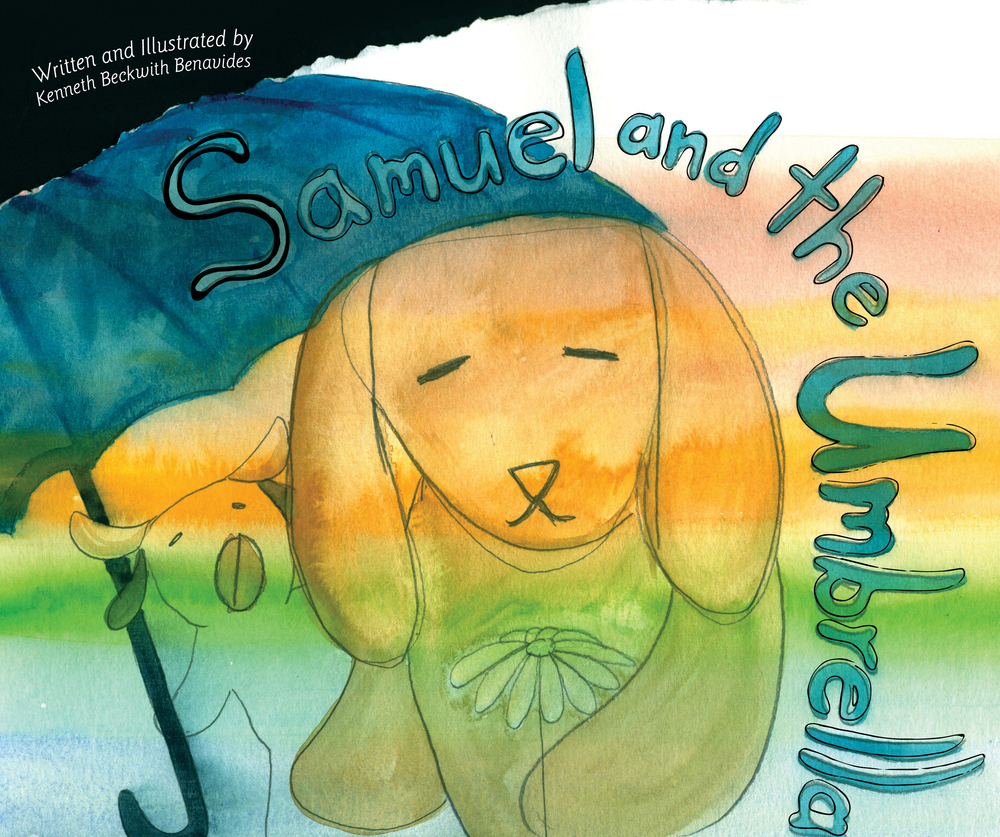 Samuel and the Umbrella, Book cover