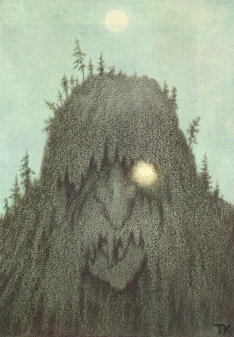 Skogtroll  , 1906 (Forest Troll)