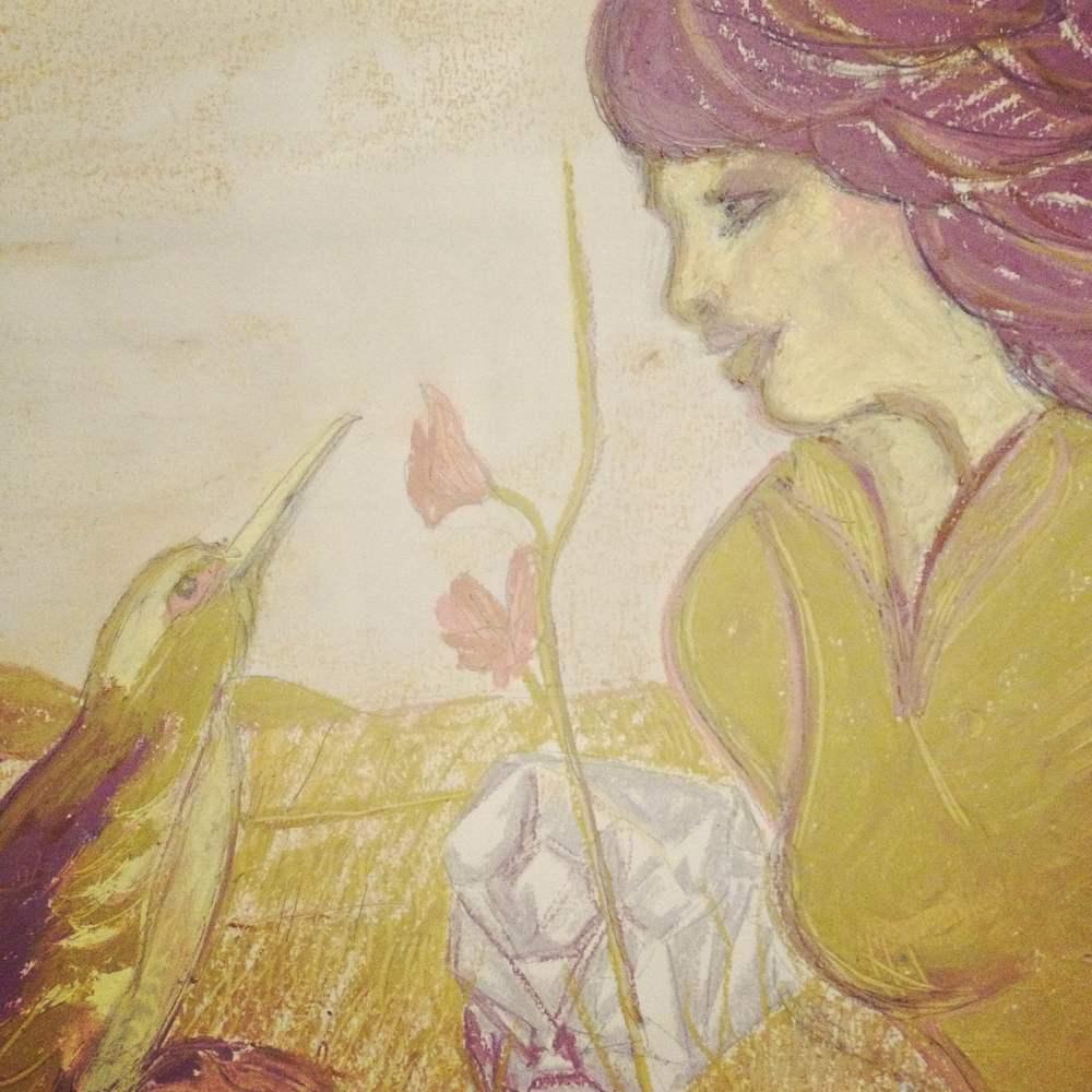 Soul Talk, Oil pastel