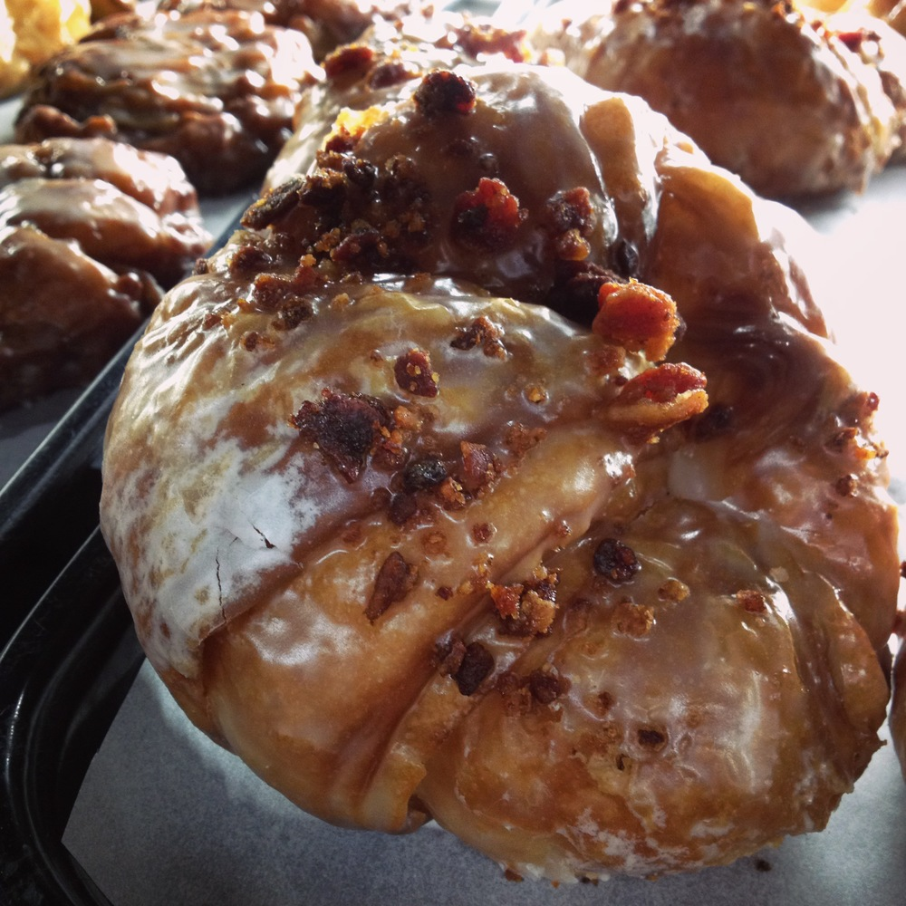 Candied Bacon and Glazed Croissant, Saint Charles, IL