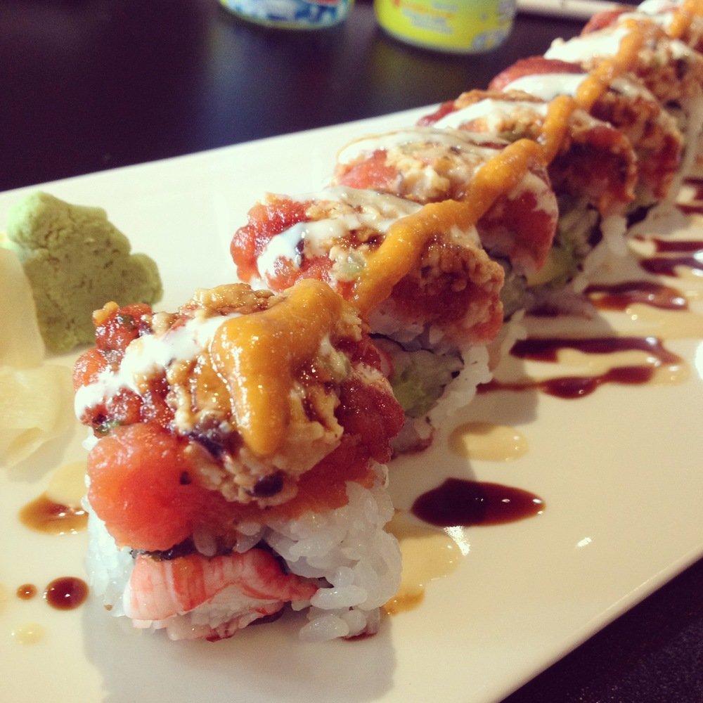 Spicy Dragon Roll, Saint Charles, IL