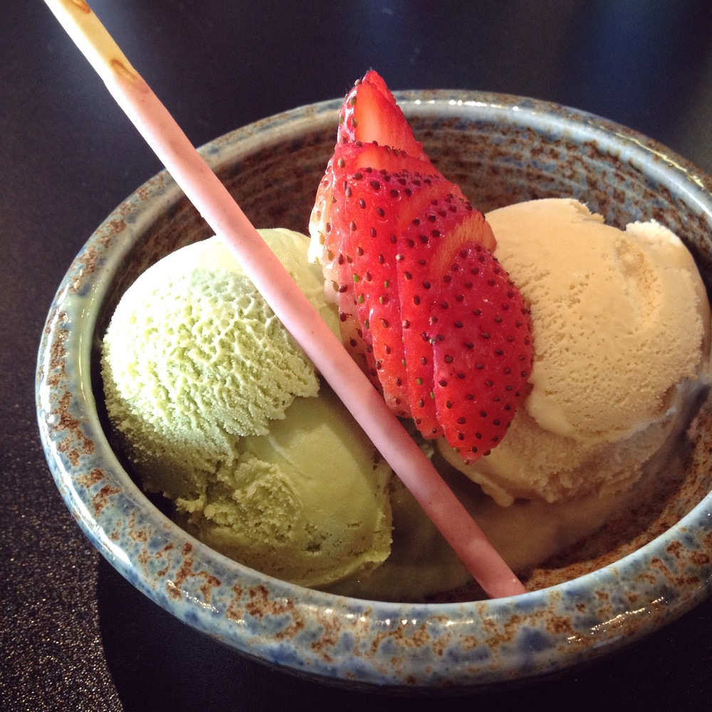 Ginger and Matcha Iced Cream, Saint Charles, IL