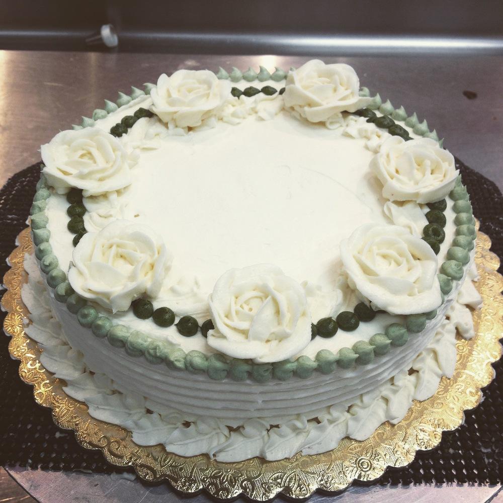 Jade Style Cake