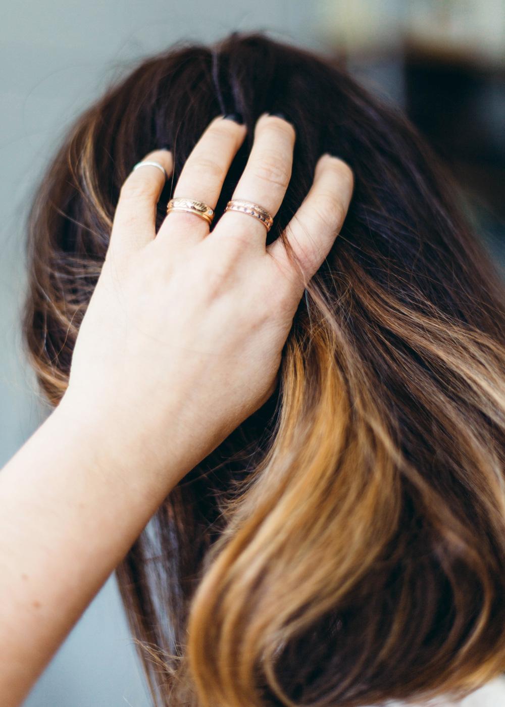 Custom Engraved Rings
