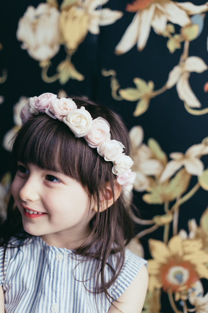 Kids Photography NYC Flower Crown