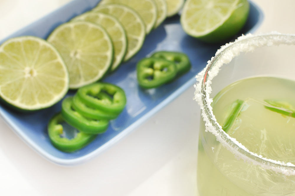 Jalapeño Margarita for Cinco de Mayo