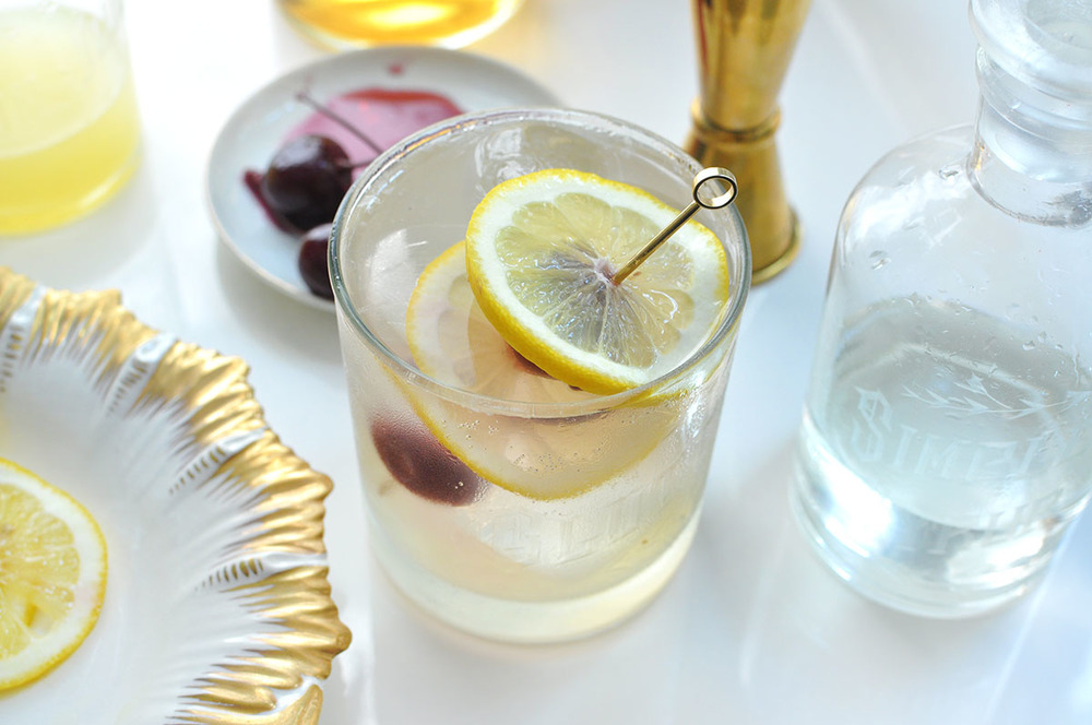 Tom Collins Cocktail Recipe » Love & Victory
