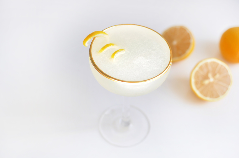 French 77 Cocktail Recipe on the Love & Victory Blog