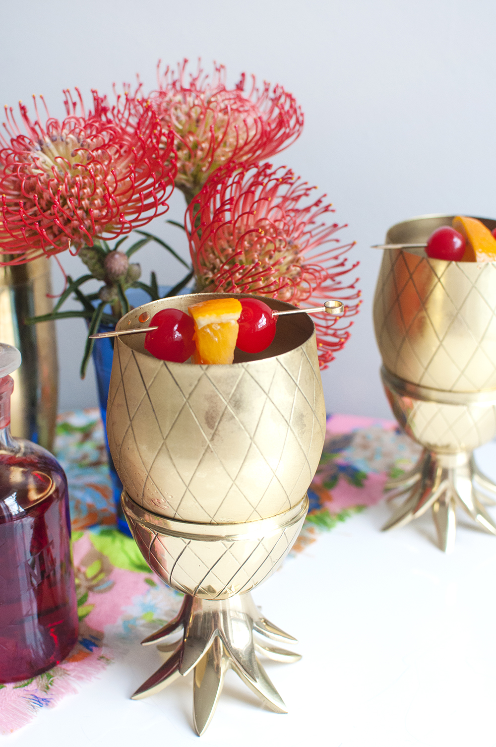 Tiki Drinks and the Pinapple Tumbler