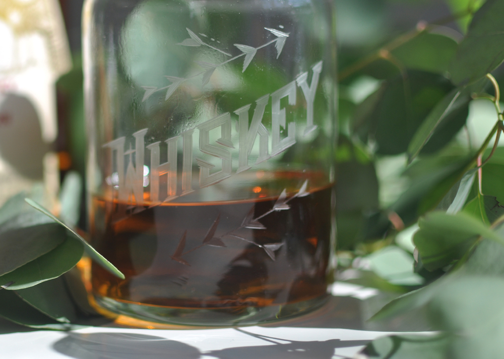 Whiskey Decanter by  Love & Victory   Love & Victory   Love & Victory  L