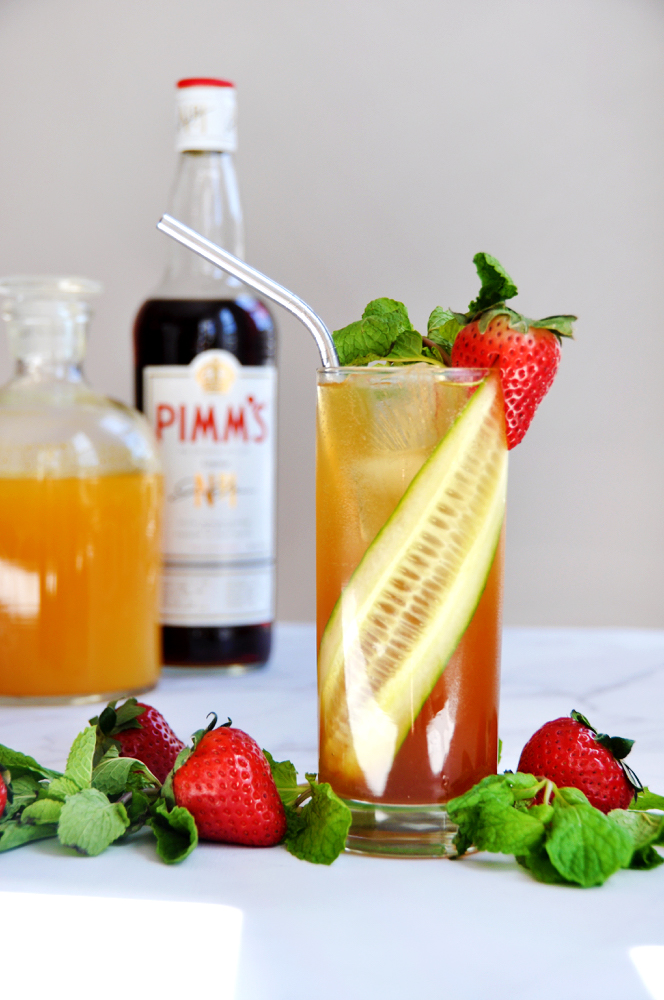 Pimm's Cup Cocktail Recipe By Love & Victory