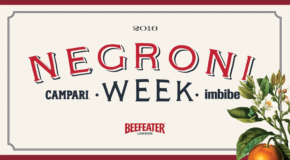 Negroni Week - Campari - Love & Victory