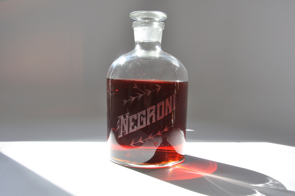 Negroni Decanter for Negroni Week