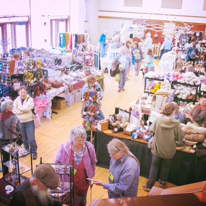 First Palouse Fiber Festival in 2014
