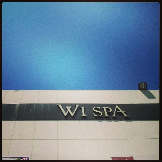 Just spent the first half of today at WI Spa Los Angeles. Been hearing about it from Baba Zef and a few other folks for awhile now. This was my first time. Great infusion if ancient tradition and modern influence. Go sit and read and soak and steam and sleep and eat and sweat and shower for hours at a reasonable rate.