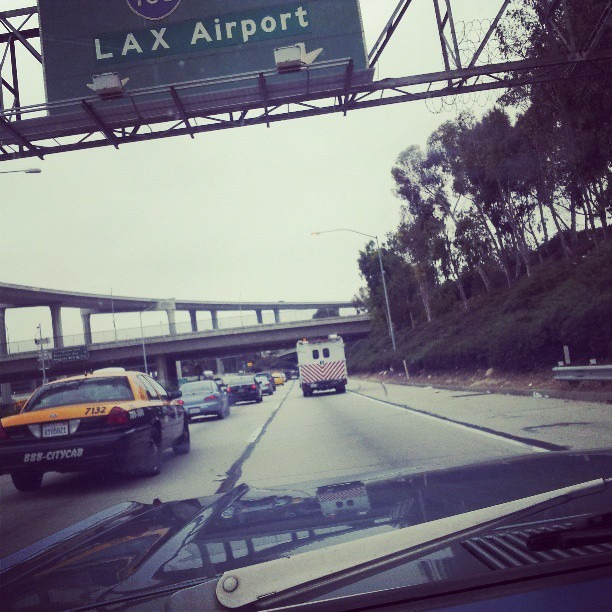 #lax bound.  9am and nooo traffic. #miracles. #Breaksover. #backatit #catchingthesedreams #purpose