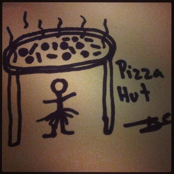 #pizzahut ha!