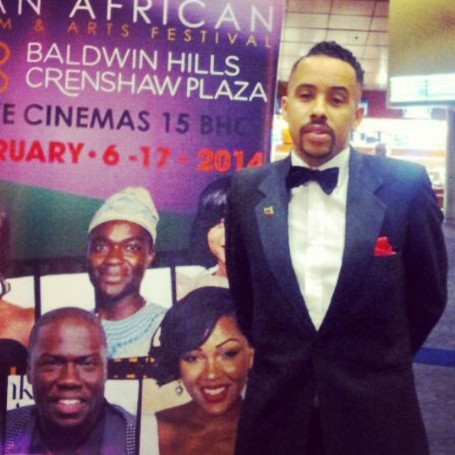 Excited to be here opening night of the #PanAfricanFilmFestival