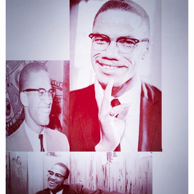 #MalcolmX taught us with a smile