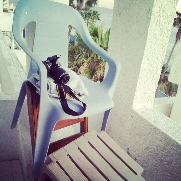 My tripod at the spotty in Mexico. #creative or #jankygetsthejobdone