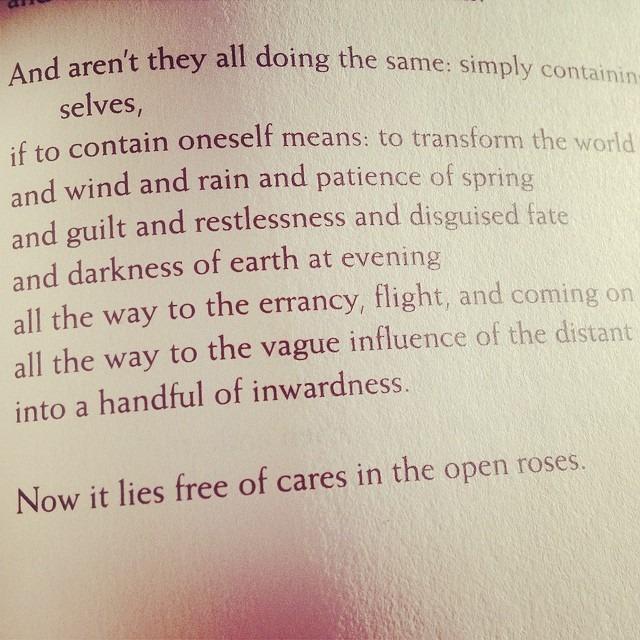 #Rilke