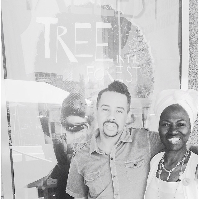 Was honored to be invited by the lovely Elise Woodson of #CAAM to see The Tallest Tree in the Forest at #marktaperforum #theater #paulrobeson #legendsareimmortal
