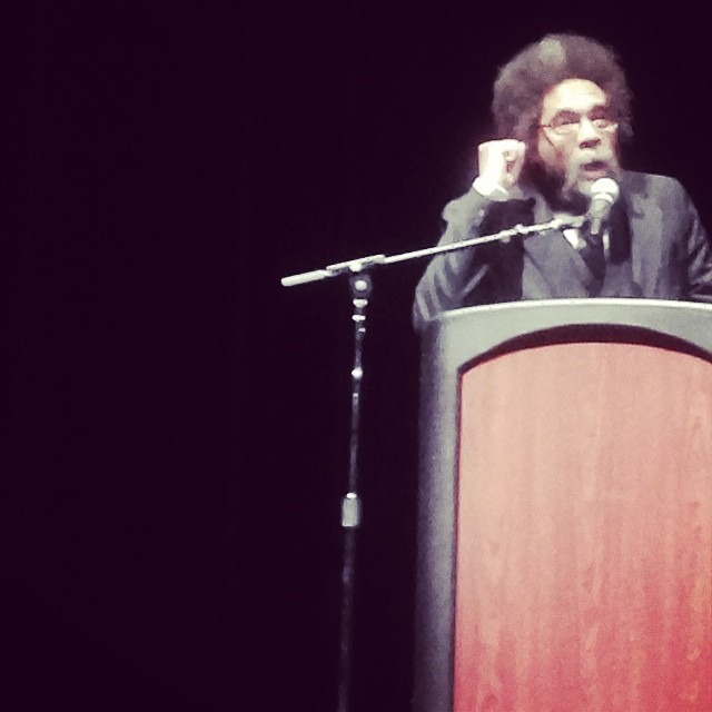 Connected we the good brotha last night at Cal State LA. Shout out to SIs Dr. Abdullah as well