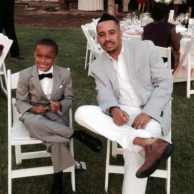 My young God of a nephew and I politicking at my brother's wedding. I wonder what the future holds and what we'll build. He touches me deeply every time, from the moment I held him as an infant in the hospital.