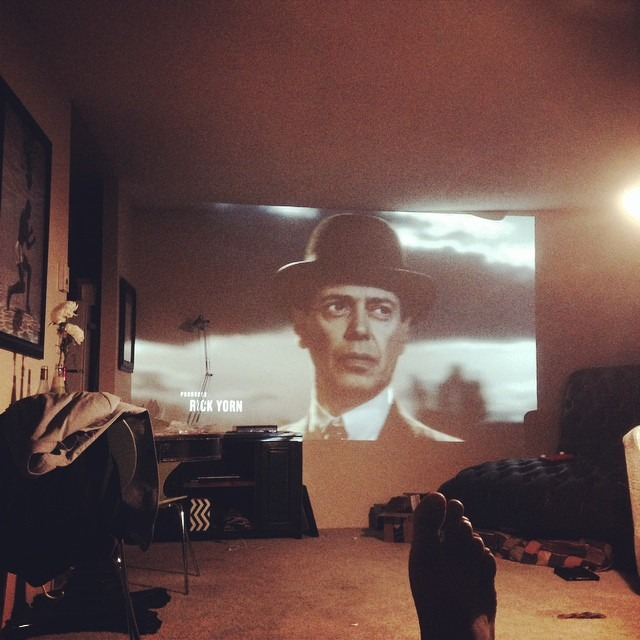At the crib watching my favorite show right now. #boardwalkempire #homecinema #hbo
